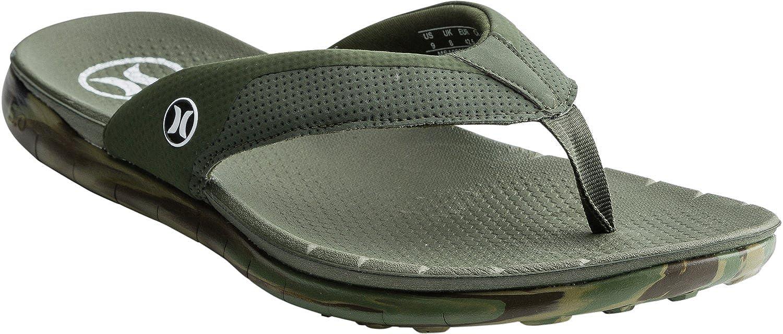 8b5f8683f28b Amazon.com  Hurley Men s Phantom Free Sandal Black (8)  Shoes