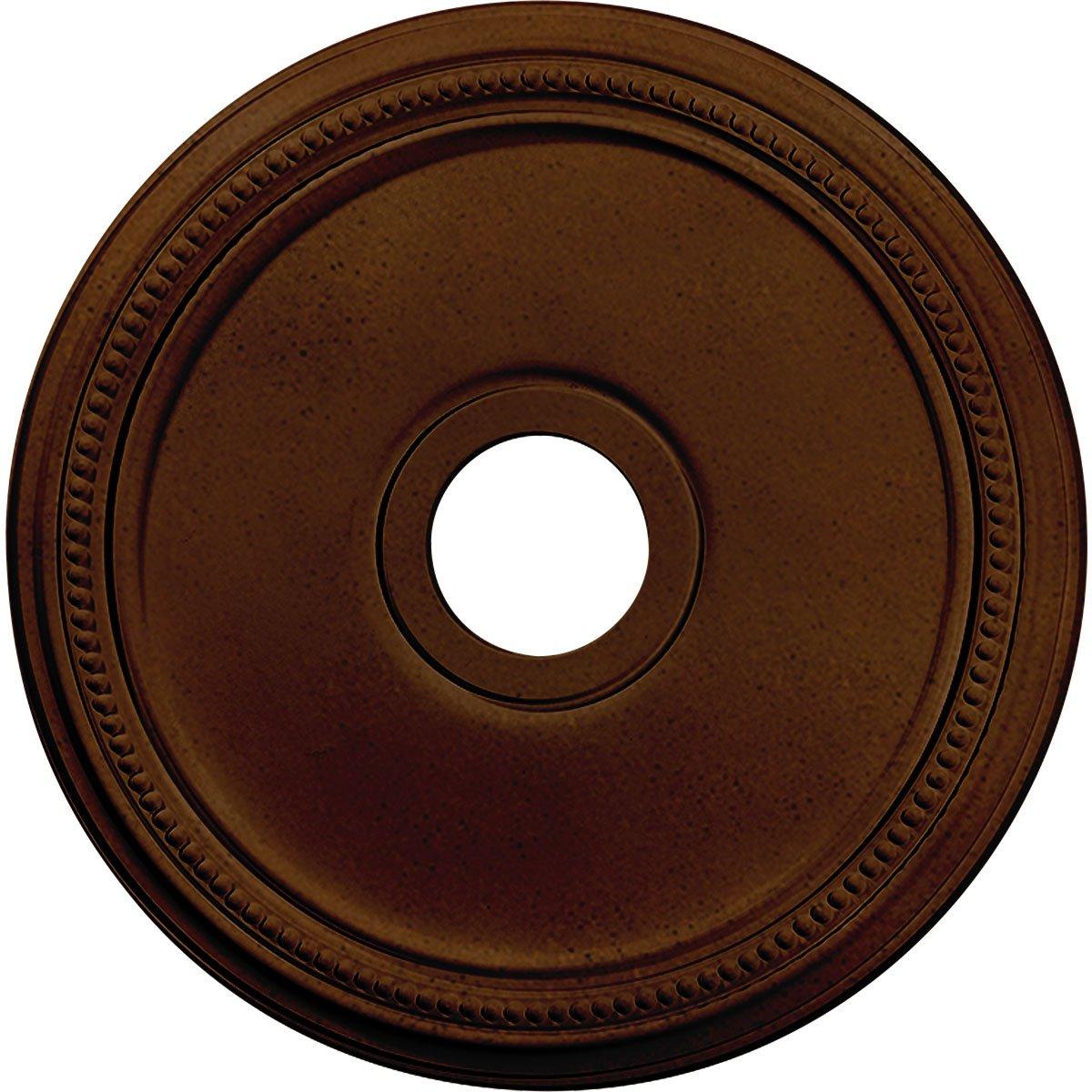 Ekena Millwork CM18DIRZS Diane Ceiling Medallion, Rubbed Bronze