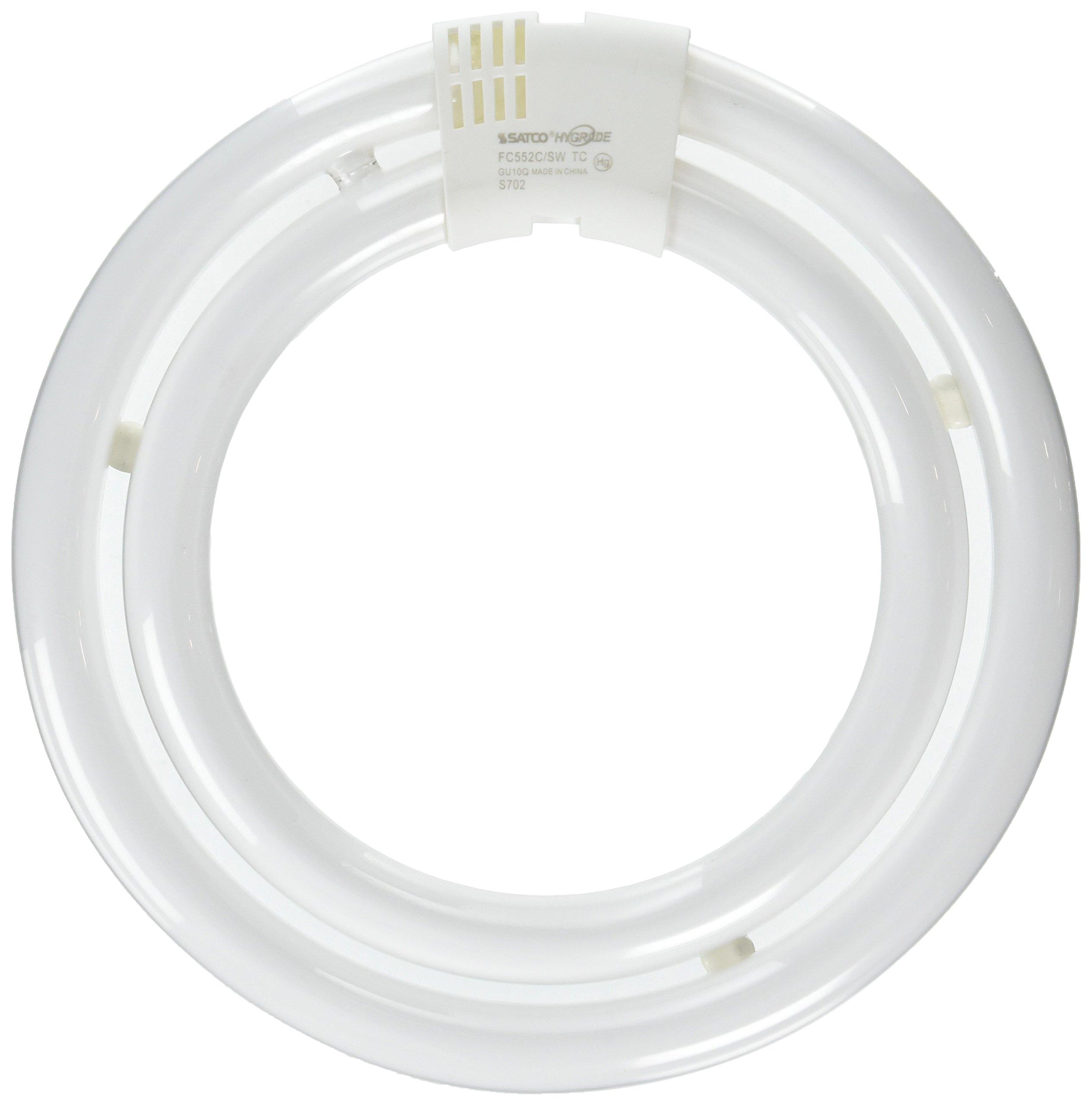 Satco S6596, FC552C/SW/TC - 55W 3000K T6, Compact Fluorescent Bulb