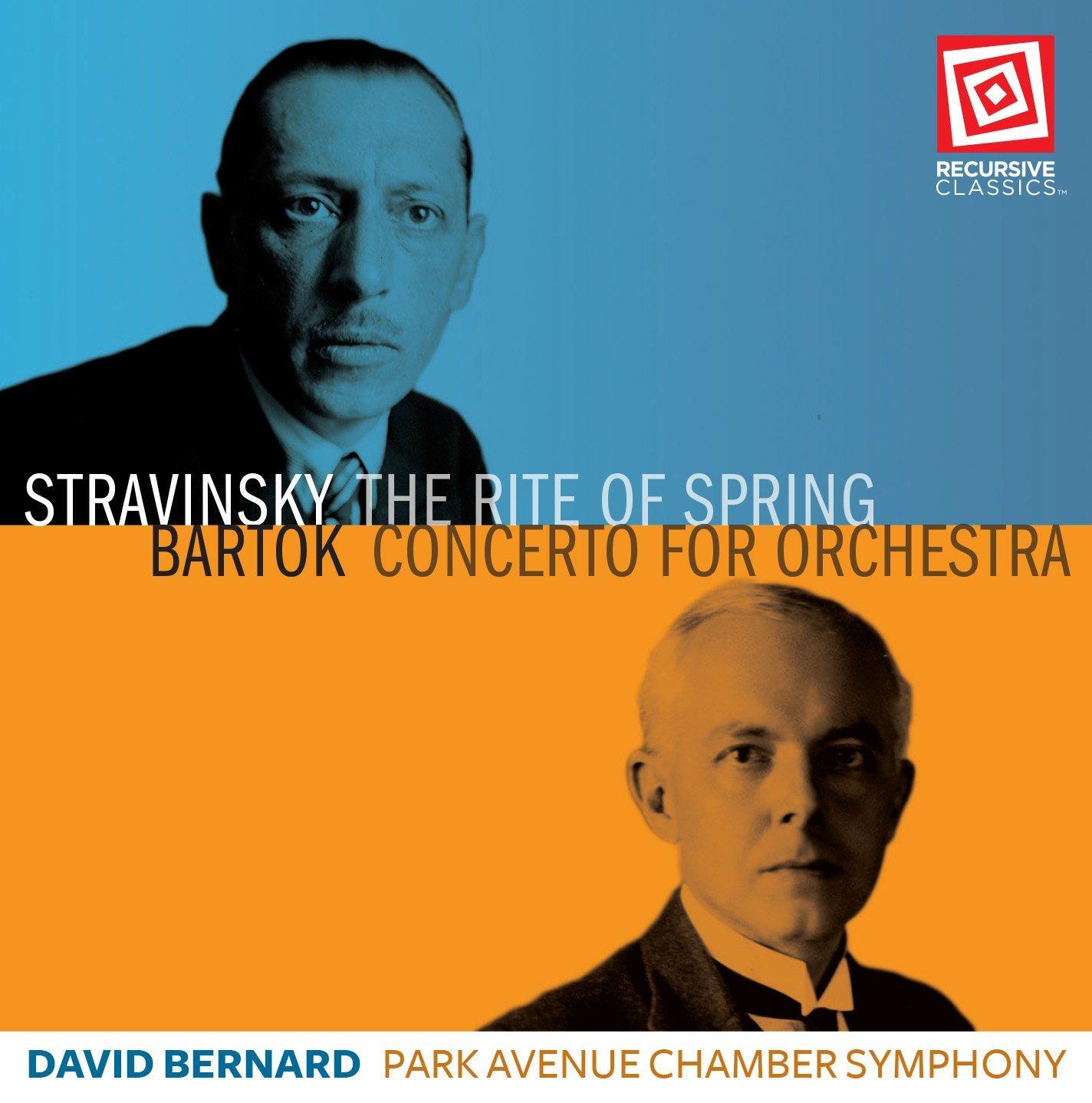 Park Avenue Chamber Symphony Igor Stravinsky Bla Brtok David Bernard