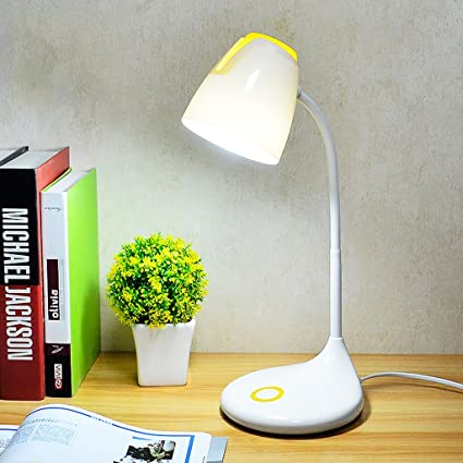 Ordinaire Table Lamp LED Desk Lamp 5W Reading, Bedroom Bedside Lamp, Push Button  Switch,