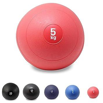 POWRX - Slam Ball Balón Medicinal 3-20 kg - Ideal para Ejercicios de  Entrenamiento 314eb6b9d6499