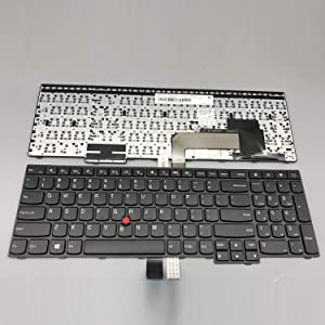 Sierra Blackmon Replacement Keyboard for Lenovo Thinkpad E550 E550C E555 E560 E565 Laptop