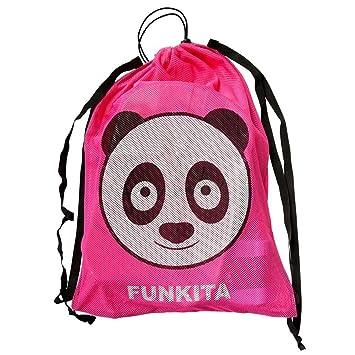 Funkita - Bolsa de Malla, diseño de Panda: Amazon.es: Deportes y aire libre