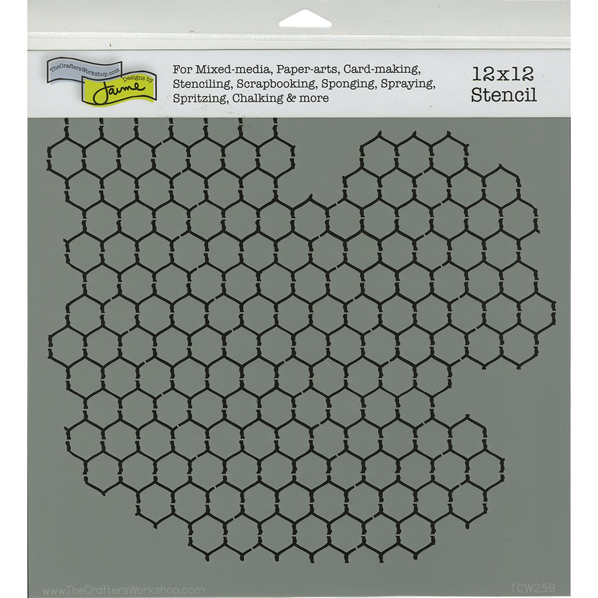 Amazon.com: Crafters Workshop TCW-259 Framing Template, 12 by 12 ...