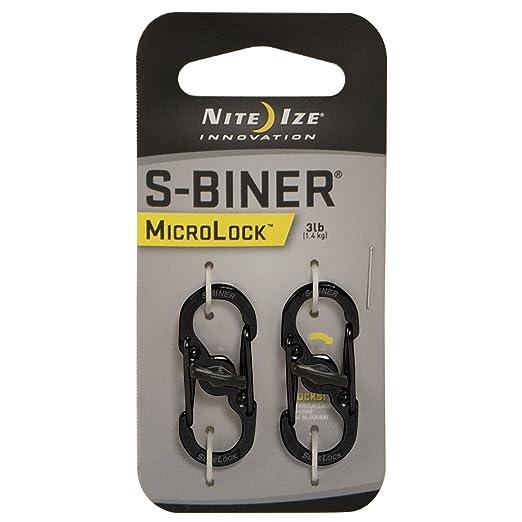 35 opinioni per Nite Ize S-Biner MicroLock- climbing carabiners