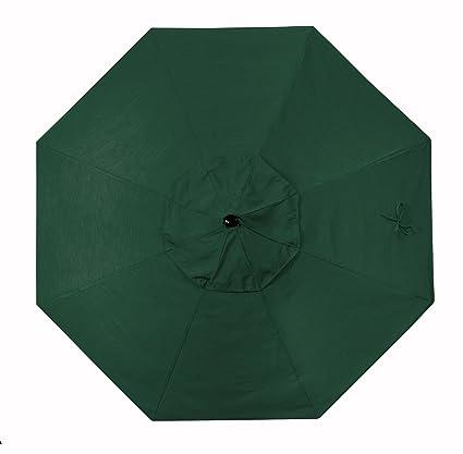 Amazon.com  California Umbrella Replacement Canopy Cover in Sunbrella Forest Green Umbrella 9u0027 Round  Garden u0026 Outdoor  sc 1 st  Amazon.com & Amazon.com : California Umbrella Replacement Canopy Cover in ...