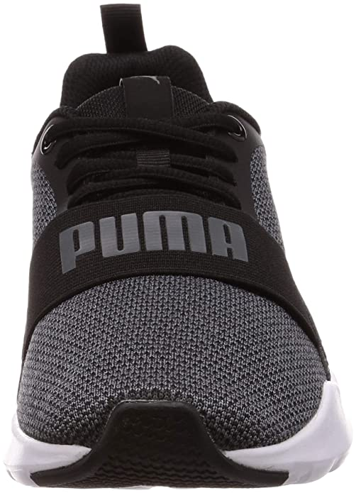 Puma Men s Wired Knit Black Textile and Rubber Shoes (6)  Buy Online at Low  Prices in India - Amazon.in bc3964194