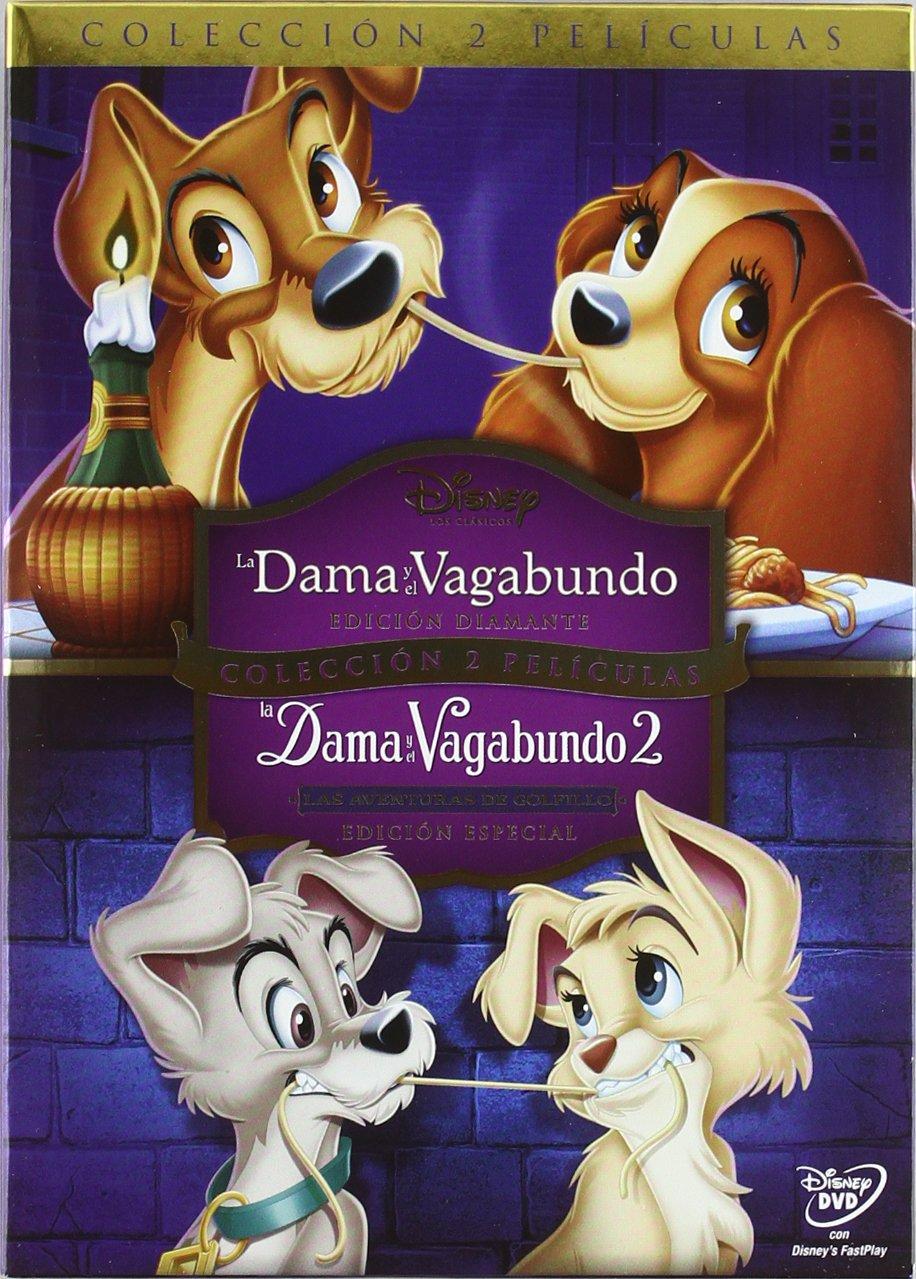 La Dama Y El Vagabundo + La Dama Y El Vagabundo 2 Pack DVD: Amazon.es: Clyde Geronimi, Hamilton: Cine y Series TV