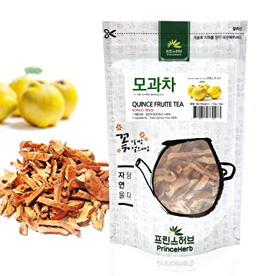 [Medicinal Korean Herb] Quince Fruit Tea (Muguaguoshi/모과 차) Dried Bulk Herbs 113g (4oz) : Garden & Outdoor