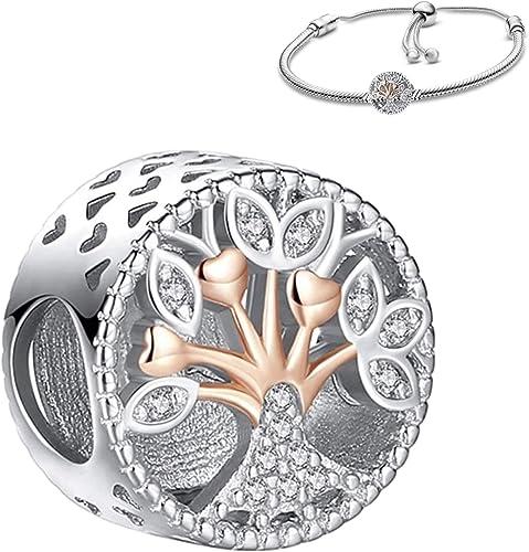 Belinia Prestige - Bijoux femme - Pendentif charm - pour bracelet pandora  ou collier - 925/1000 Sterling