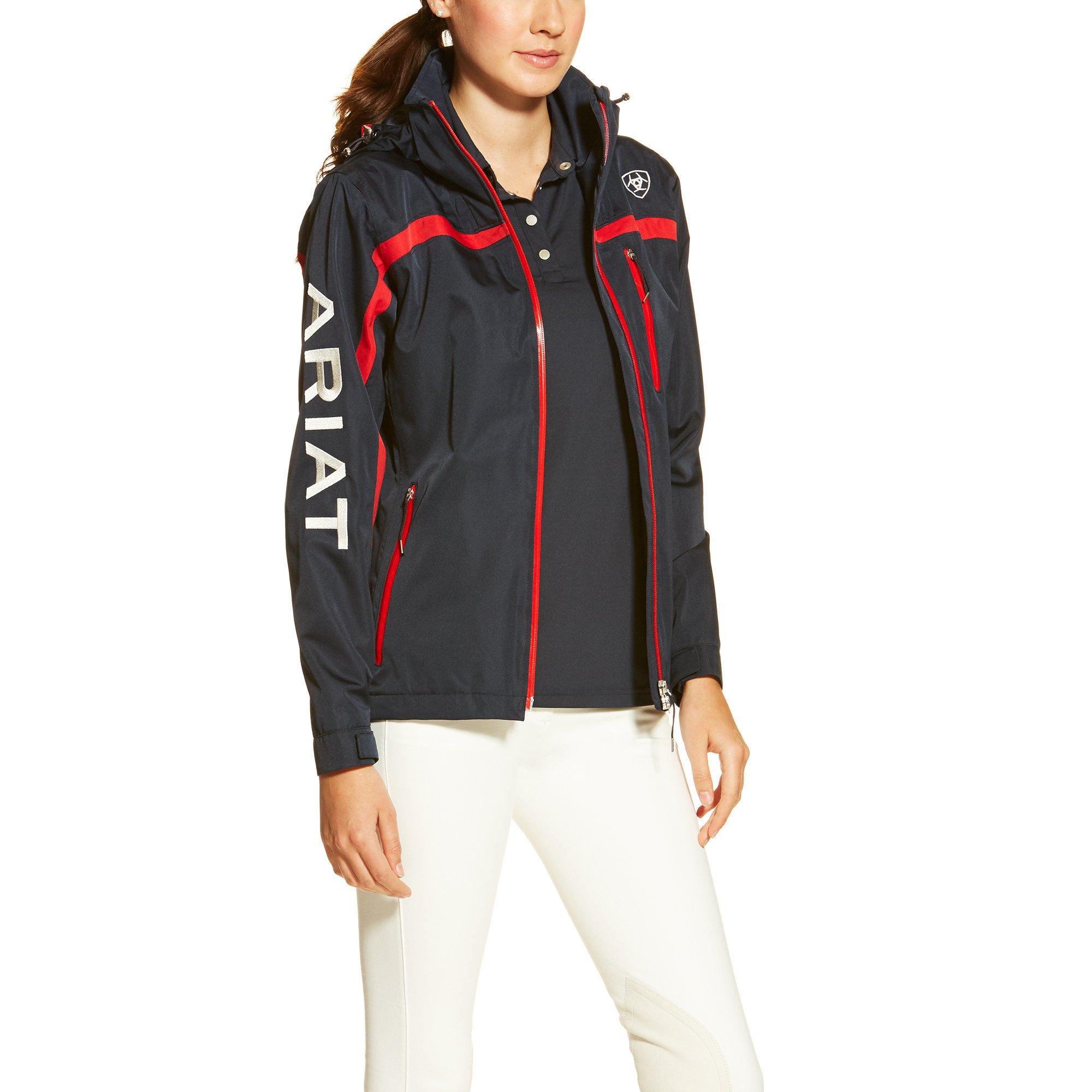 Ariat Womens Team II Waterproof Jacket Small Navy by Ariat