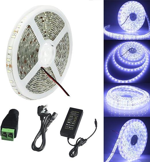 1-5M LED Strip Lights 12V 5630 SMD Lighting Waterproof Warm White Cool White UK