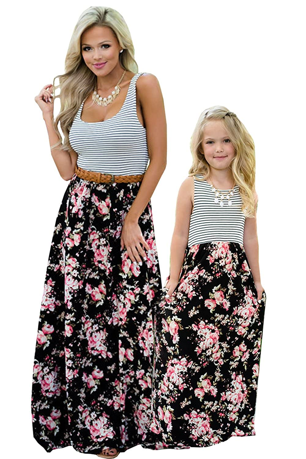 0d533dcc7 [FEATURES] Umeko Mommy and Me Dresses Matching Set, Mommy and Me Clothes ...