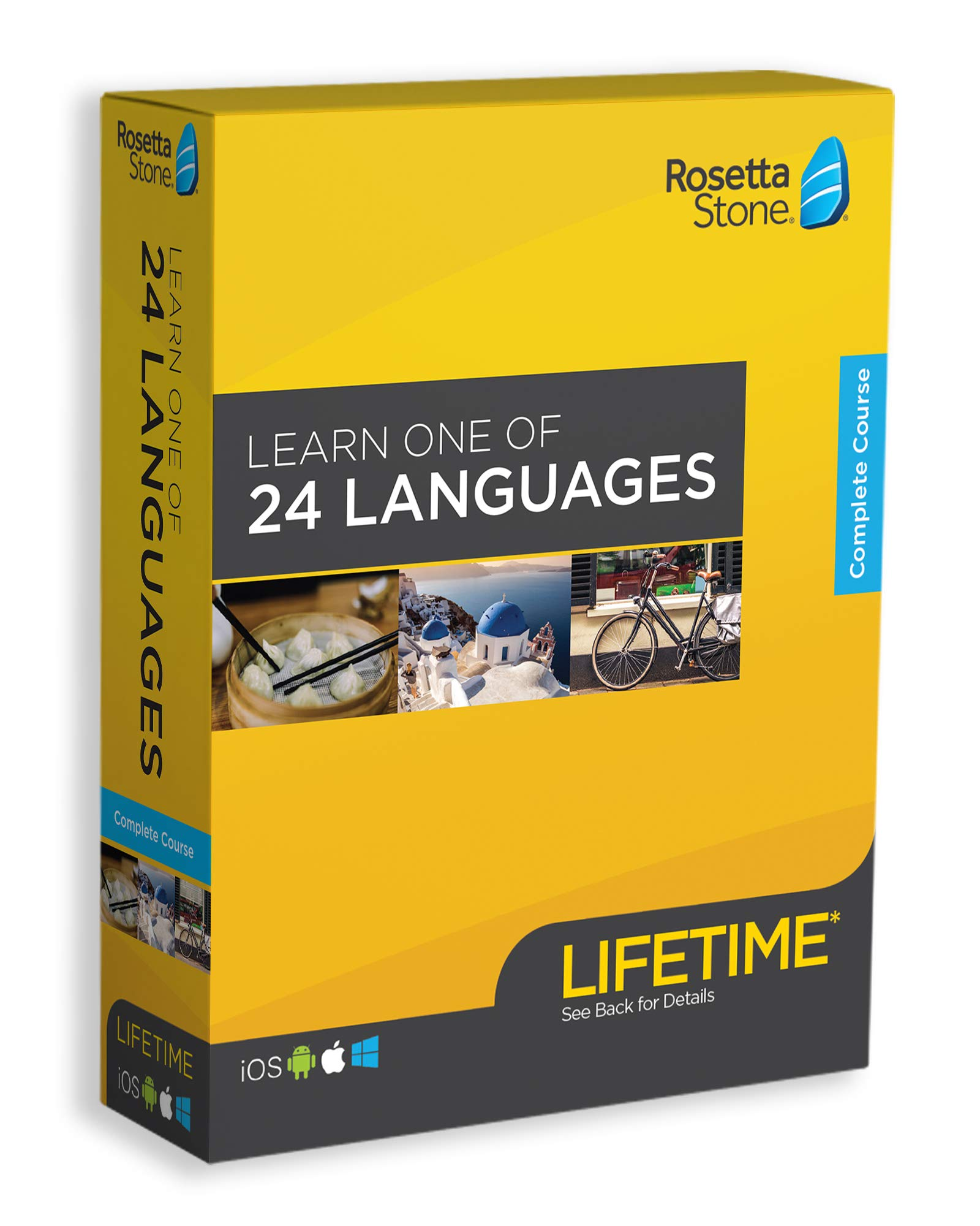Rosetta Stone: Learn a Language with Lifetime Access by Rosetta Stone
