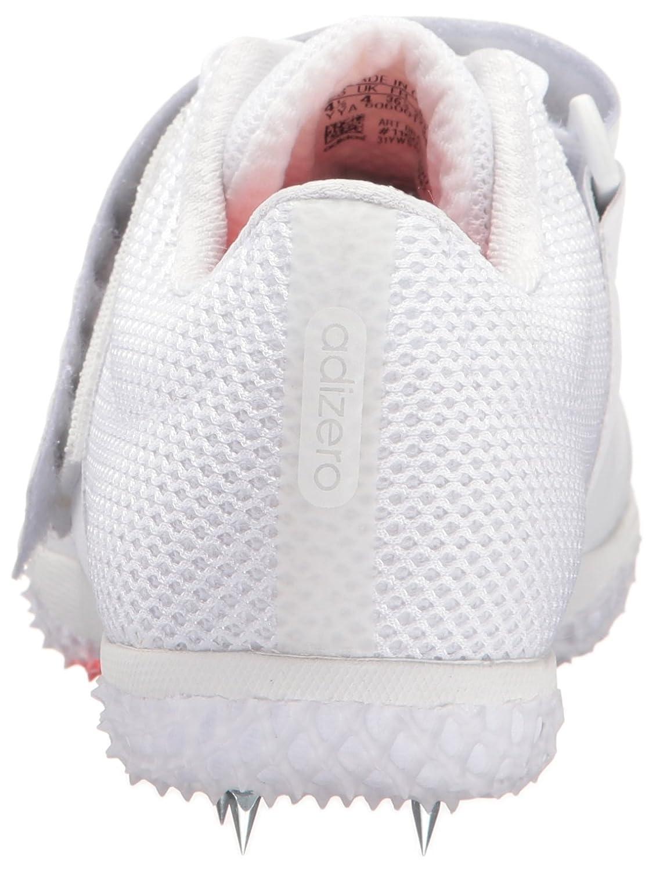 adidas Adizero Hj B01B3RSQ7W 14 M US|White/Infrared/Metallic/Silver
