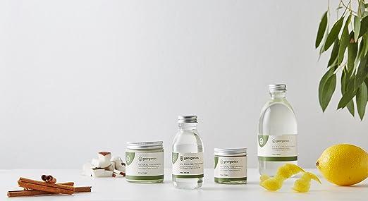 GEORGANICS - Dentífrico Natural Remineralizante con Aceite de Coco - Árbol de Te 60ML -GEORGANICS- - GEOTEA60: Amazon.es: Salud y cuidado personal