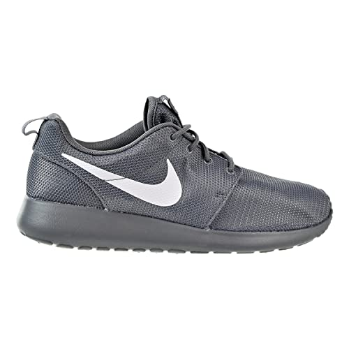 official photos af30b a8d55 NIKE Mens Roshe One Running Shoes Cool Grey White-Volt 511881-032 Size
