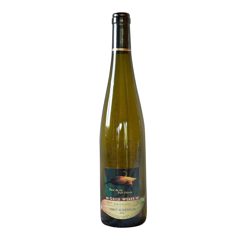 Vin d'Alsace AOC Bio Pinot Auxerrois - 2016 - Domaine O. Weber - 1 bouteille Odile Weber