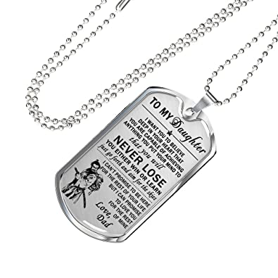 Amazon az gifts to keep bushido pendant necklace samurai az gifts to keep bushido pendant necklace samurai warrior dog tag to my daughter aloadofball