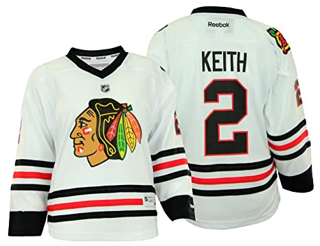 online retailer 1d878 10c95 Amazon.com : NHL Chicago Blackhawks Youth Girls Duncan Keith ...