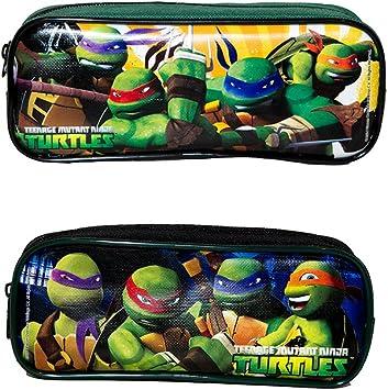 Teenage Mutant Ninja Turtles Set of 2 Pencil Cases