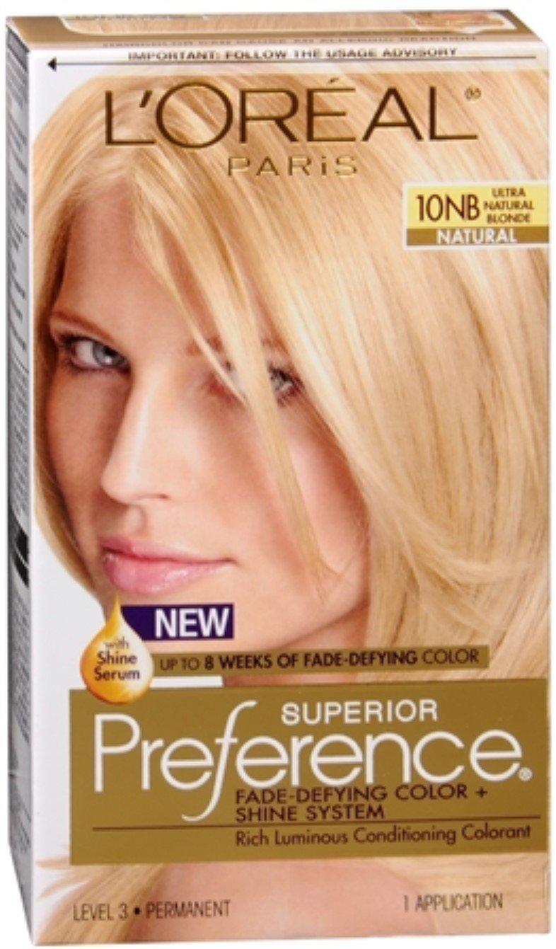L'Oreal Superior Preference - 10NB Ultra Natural Blonde (Natural) 1 Each