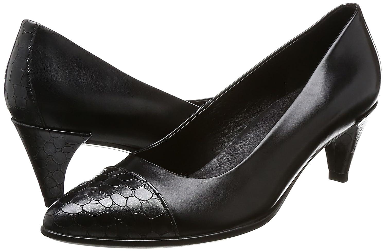Ecco Damen Shape 45 Pointy Pointy Pointy Sleek Pumps Schwarz (schwarz/schwarz-buffed Silver) 8eca8e