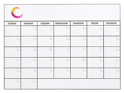 Calendario Para Escribir.Calendario Magnetico Para Refrigerador Mensual Calendario Iman