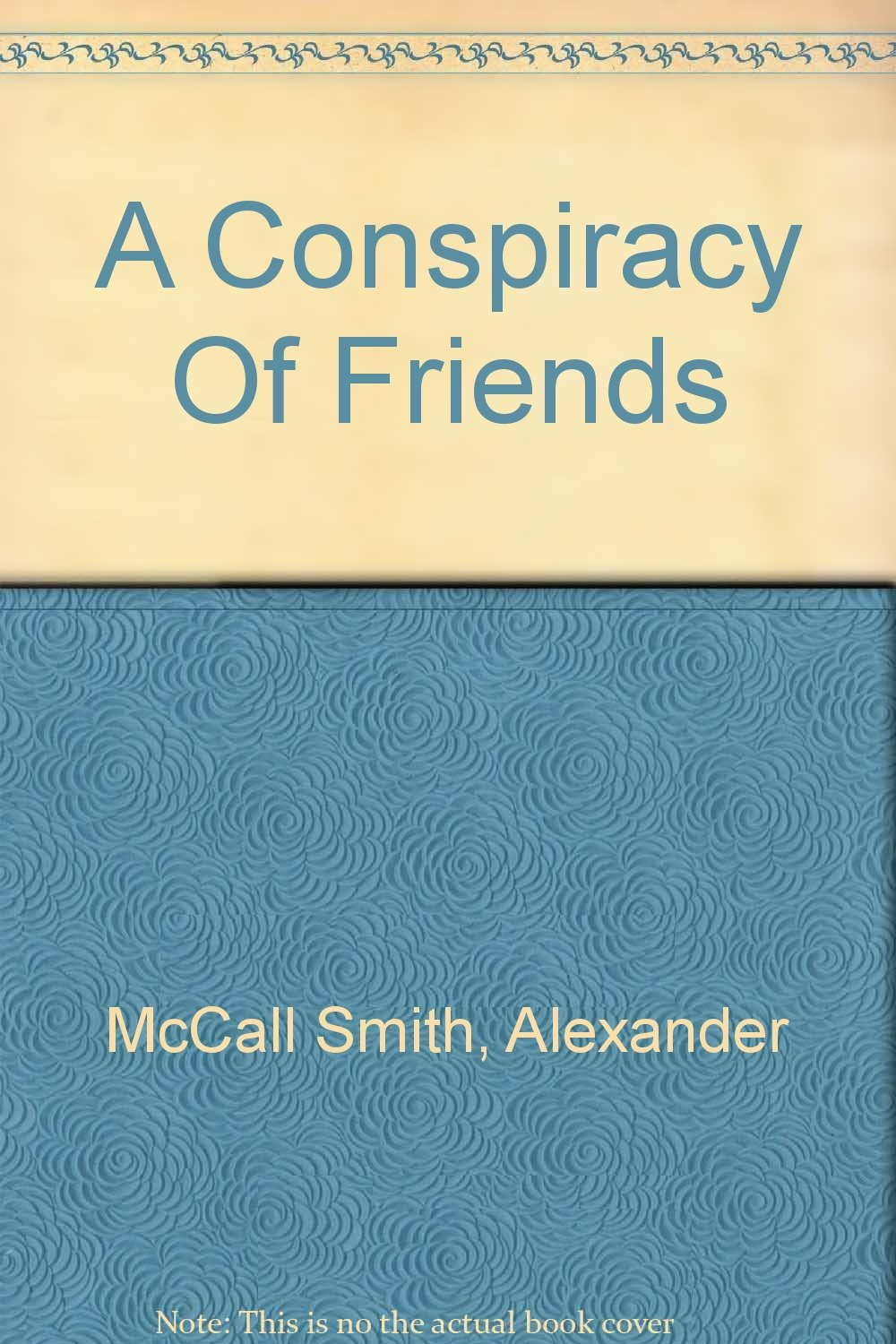 Download A Conspiracy Of Friends pdf