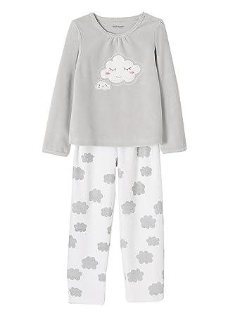 973ee3dba140f Vertbaudet Pyjama Velours Fille  Amazon.fr  Vêtements et accessoires