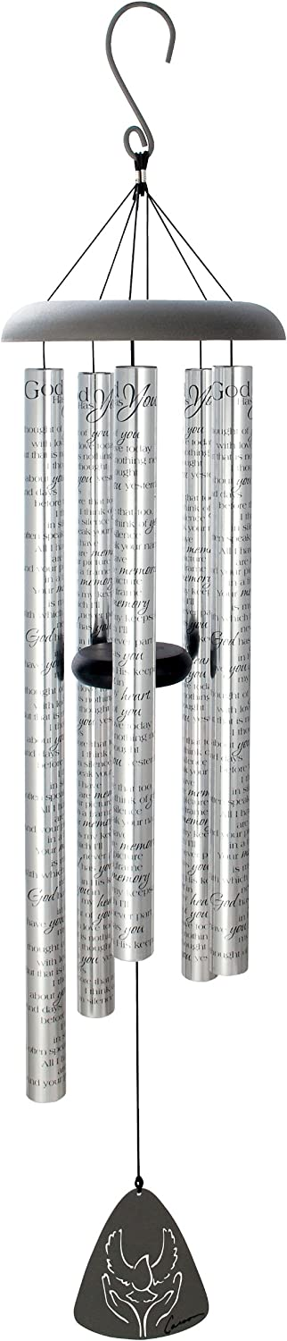 Carson Home Accents Sonnets Wind Chime, 44-Inch, God Has You