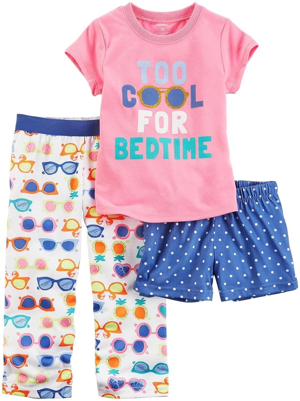 511853cc22e0 Amazon.com  Carter s Girls  3 Piece Pajama Set