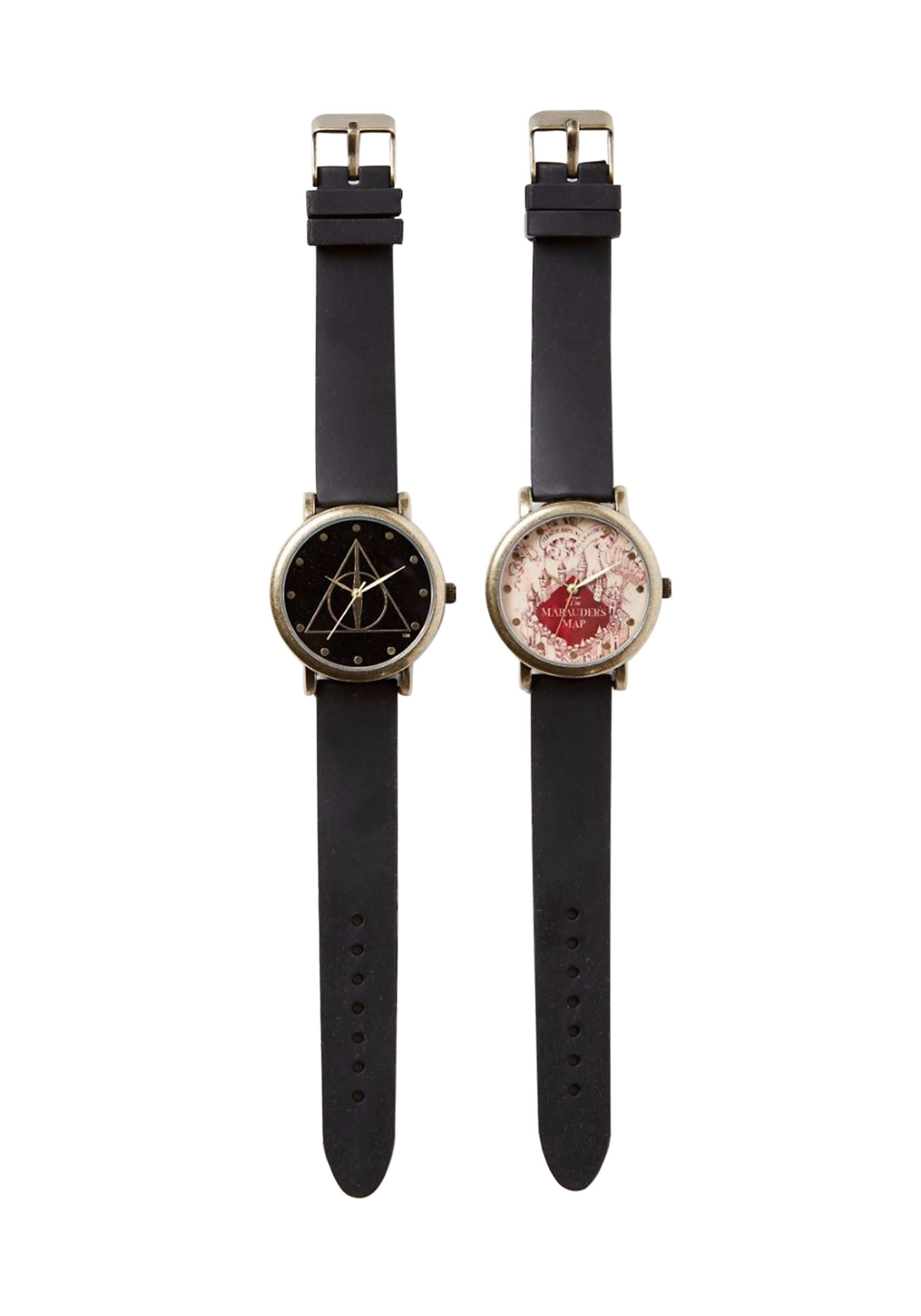 Harry Potter Marauder Map and Deathly Hallow Watch Standard by Entertainment Earth Distribution