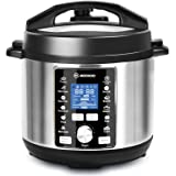 MOOSOO 13-in-1 Electric Pressure Cooker, 6QT Instant One-Touch Pressure Pot, Stain-Resistant Pressure Cooker with…