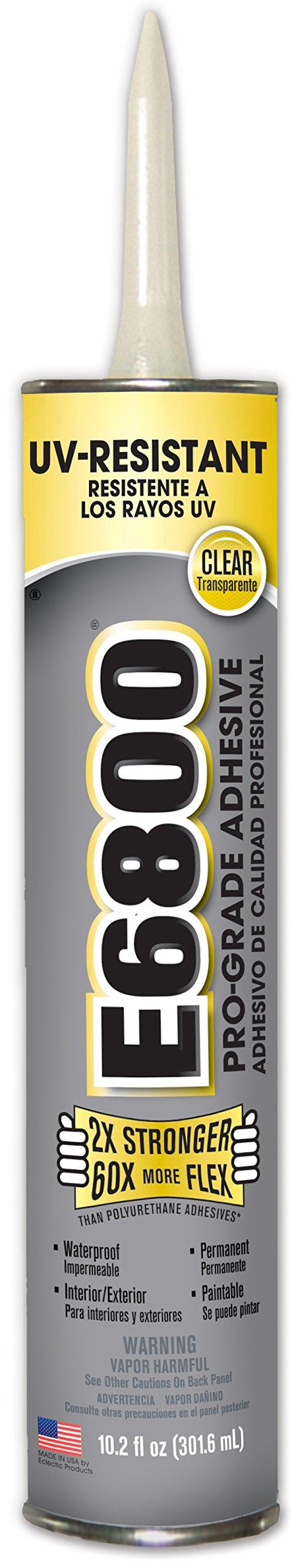 E6800 262011 UV Resistant Pro-Grade Adhesive