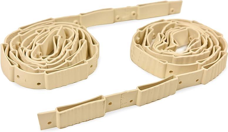 Tiras de goma para somier de 70 mm (par)