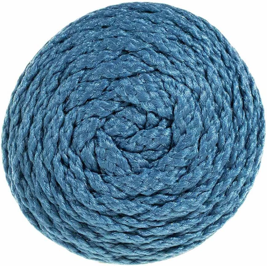 100 Yards 4MM Bonnie Cord Blueberry Macrame Cord