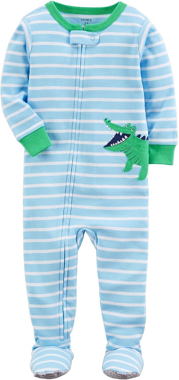 c340b3079 Amazon.com  Carter s Baby Boys  2T-5T One Piece Dinosaur Snug Fit ...