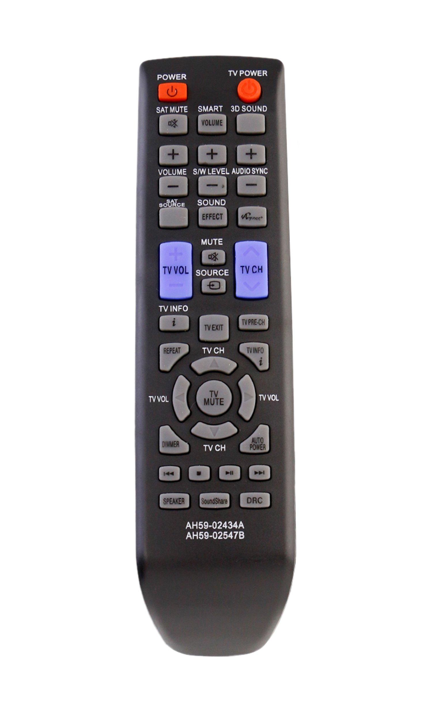 Control Remoto AH59 02434A 02547B Samsung Soundbar HW E45...