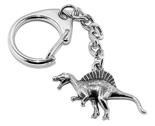 Spine Lizard Spinosaurus Dinosaur - Llavero de peltre (viene ...