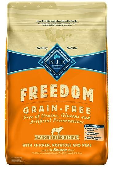 Amazon Blue Buffalo Large Breed Freedom Grain Free Chicken