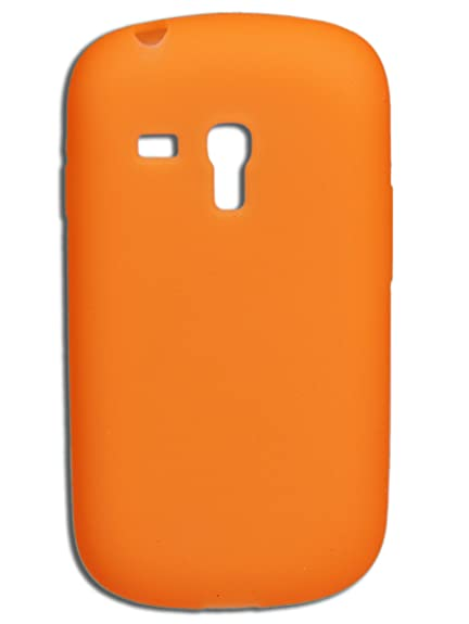 Nueva carcasa en silicona para Samsung Galaxy S3 mini - Naranja