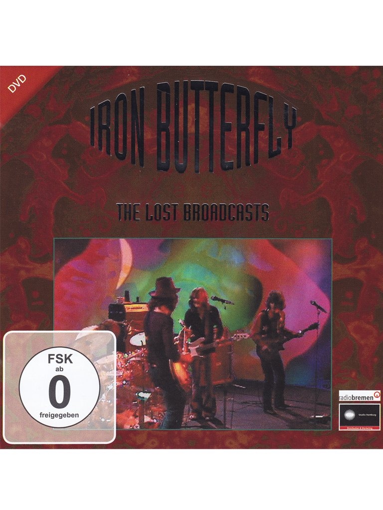 Iron Butterfly - The Lost Broadcasts [Alemania] [DVD]: Amazon.es