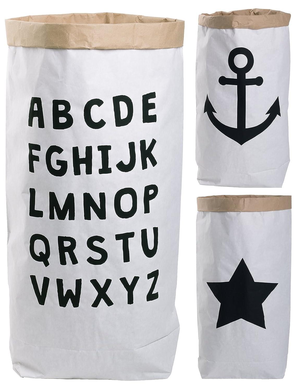 Sacco di carta paper bag rotondo Kraft sacchetto di carta marrone bianco Abc Hoffs Lifestyle GmbH