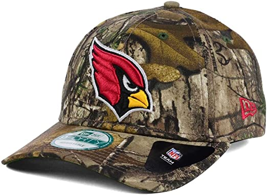 New Era Adjustable Trucker Cap Arizona Cardinals wood camo