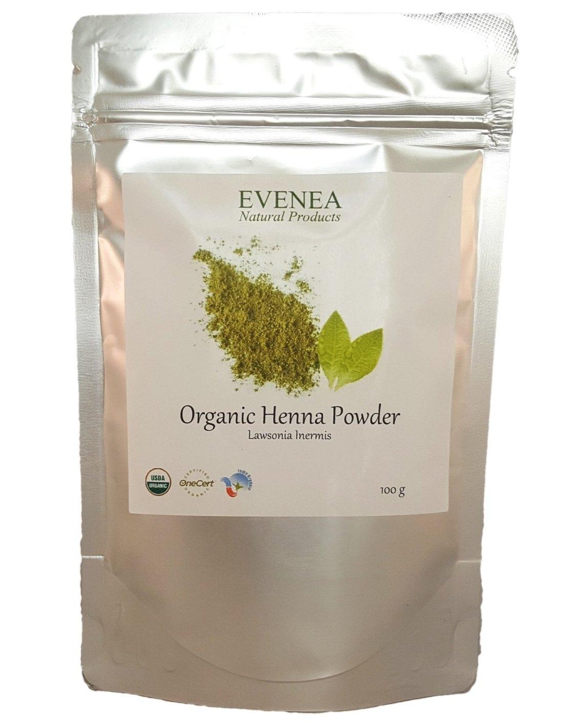 100g Organic Rajasthani Henna Powder Triple-Sifted Body Art Quality Evenea