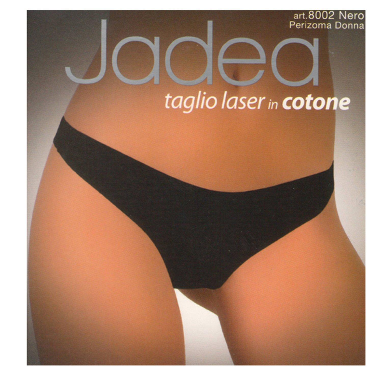 JADEA Perizoma Donna Taglio Laser in Cotone Invisibile Confezione 3 Pezzi 8002