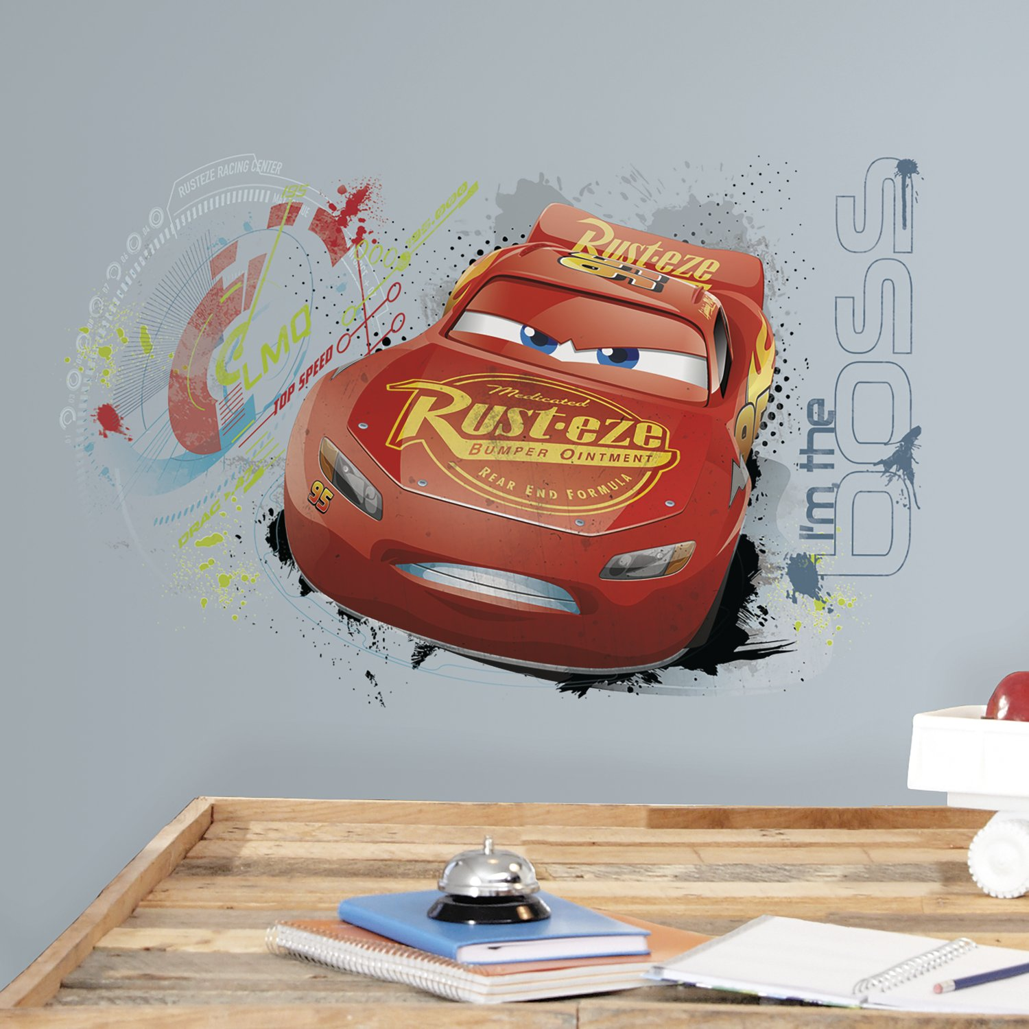 Vinilo Decorativo Pared [714mvw5b] Cars 3 Mcqueen