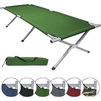 BB Sport Aluminium Feldbett HOLIDAY LITE 200 x 70 x 45 cm verschiedene Farben klappbares Camping Bett belastbar bis 120 kg